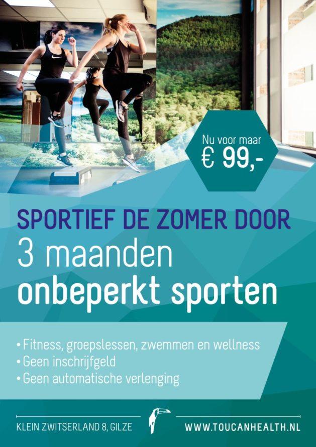 THC Zomeractie 2017 Poster A3 3mnd sporten - kopie